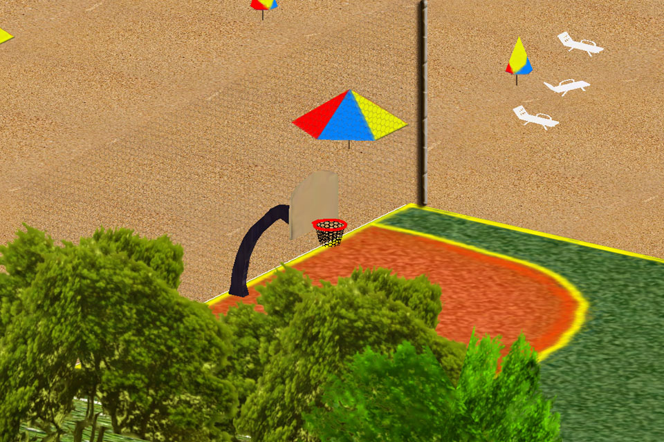 Screenshot Basketball Three Points 3D 2012