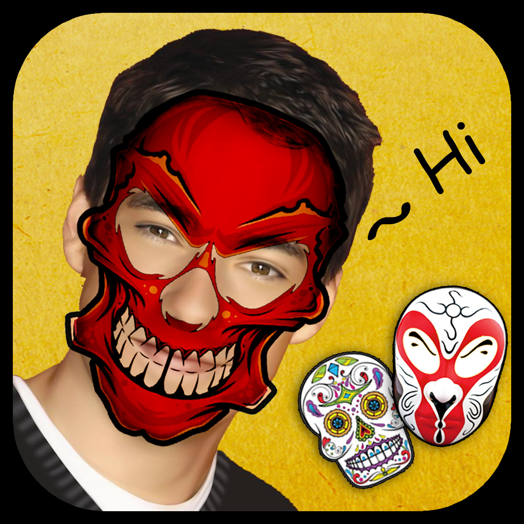 Cosplay Mask Pro - Add Funny Photos & Wonderful Pencil Portrait Effects to Your Face